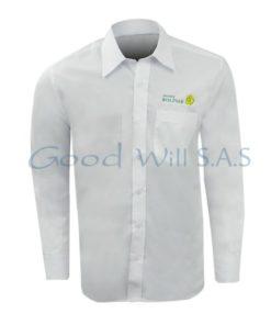 Camisa logo con bolsillo al por mayor