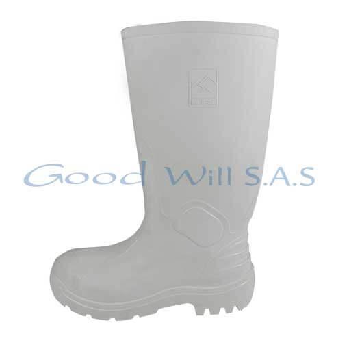 Botas Antideslizantes blancas