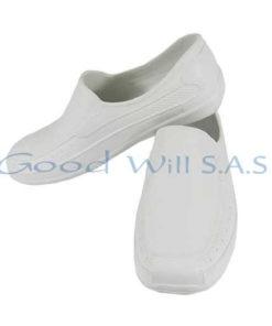Zapatos de dotación blancos