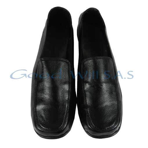 Zapato brillante de dotación negro