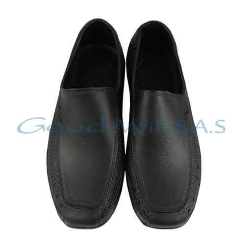 Zapatos negros de dotación