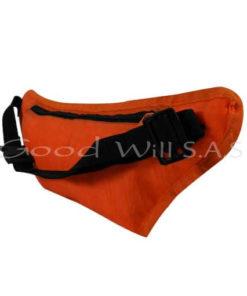 canguro bolsillo naranja interno