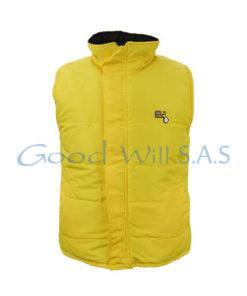 Chaleco personalizado amarillo