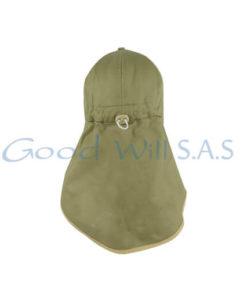 Gorra sembrador capota ajustable