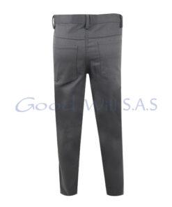 Pantalon de dotación gris dril