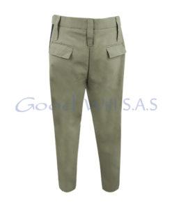 Pantalón de seguridad beige 5 bolsillos