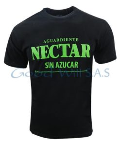 Camiseta estampada negra al por mayor