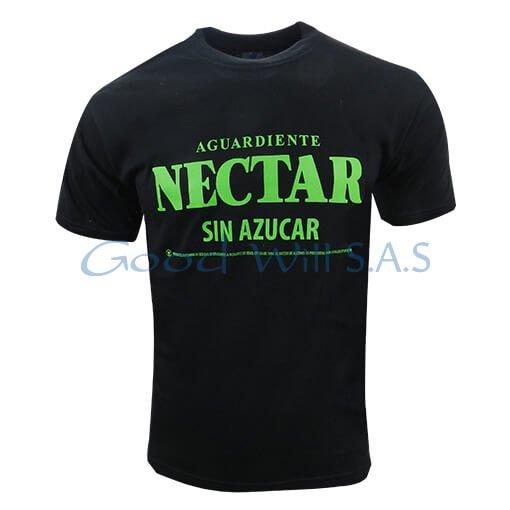Camiseta estampada negra al por mayor