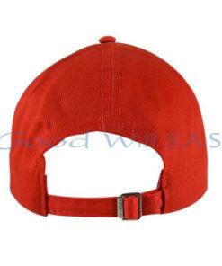 Gorra roja dotación