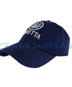 Gorra azul de dotación bordada