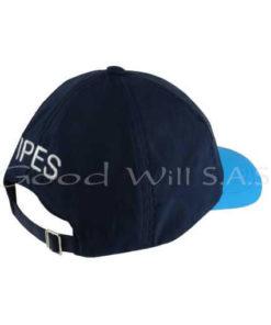 Gorra de dotación personalizada azul
