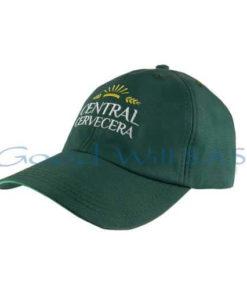 gorra promocional al por mayor verde