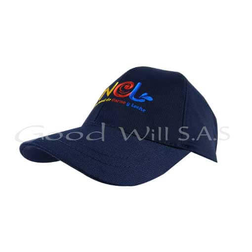 Gorra azul oscura personalizada