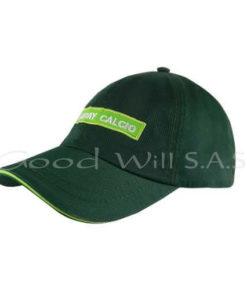 Gorras al por mayor personalizada verde