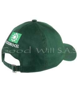 Gorras al por mayor verde bordado