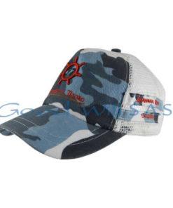 Gorra personalizada militar azul