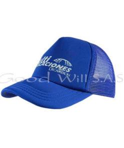 Gorra azul al por mayor