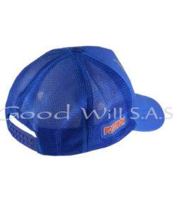 Gorra con broche personalizada