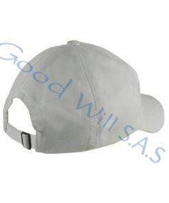 Gorra blanca para dotación