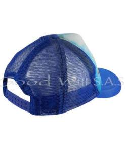 Gorra personalizada con malla