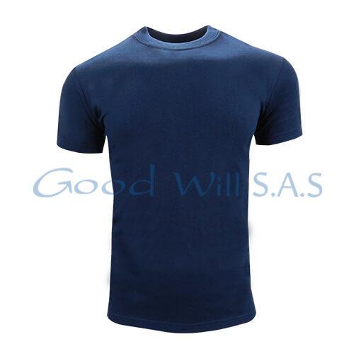 Camiseta de dotación azul