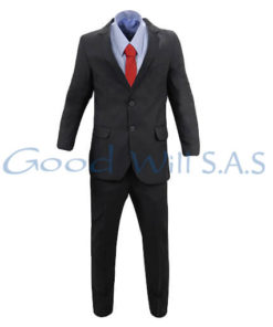 Uniforme de dotación para hombre camisa azul