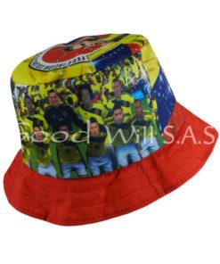 sombrero selección Colombia sublimado
