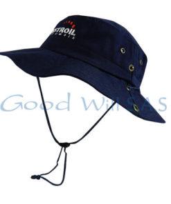 Sombrero de trabajo azul