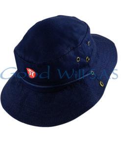 sombrero de trabajo azul oscuro