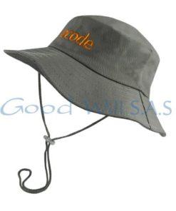 Sombrero de trabajo gris