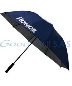Sombrilla azul personalizada