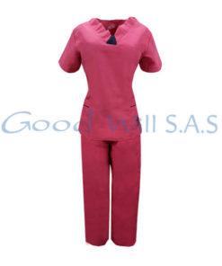 Uniforme de enfermera color rosa