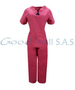 Uniforme de enfermera color rosa