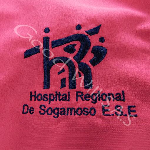 Logo bordado para Hospital