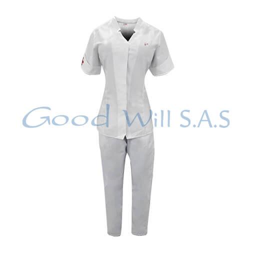 uniforme de enfermería blanco al por mayor
