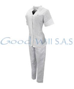 Uniforme de enfermeria blanco