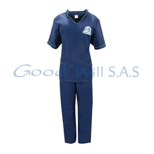 Uniforme de mujer azul oscuro
