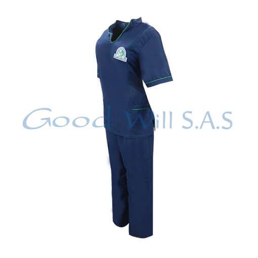 uniforme al por mayor color azul oscuro